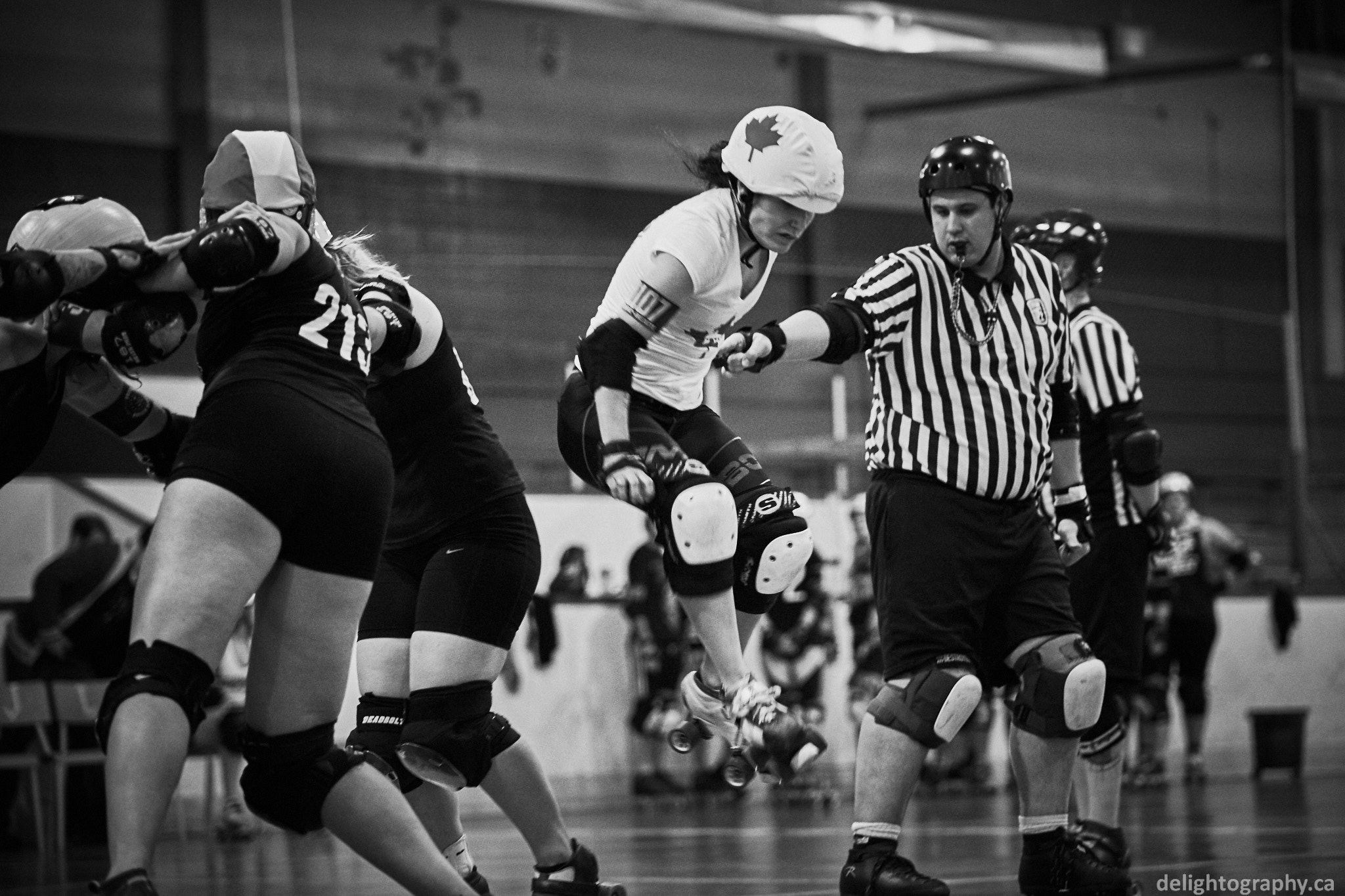 Roller skating quebec city - Team Canada Women S Roller Derby Eastern Tryout At Rockland Arena Rockland Ontario 16