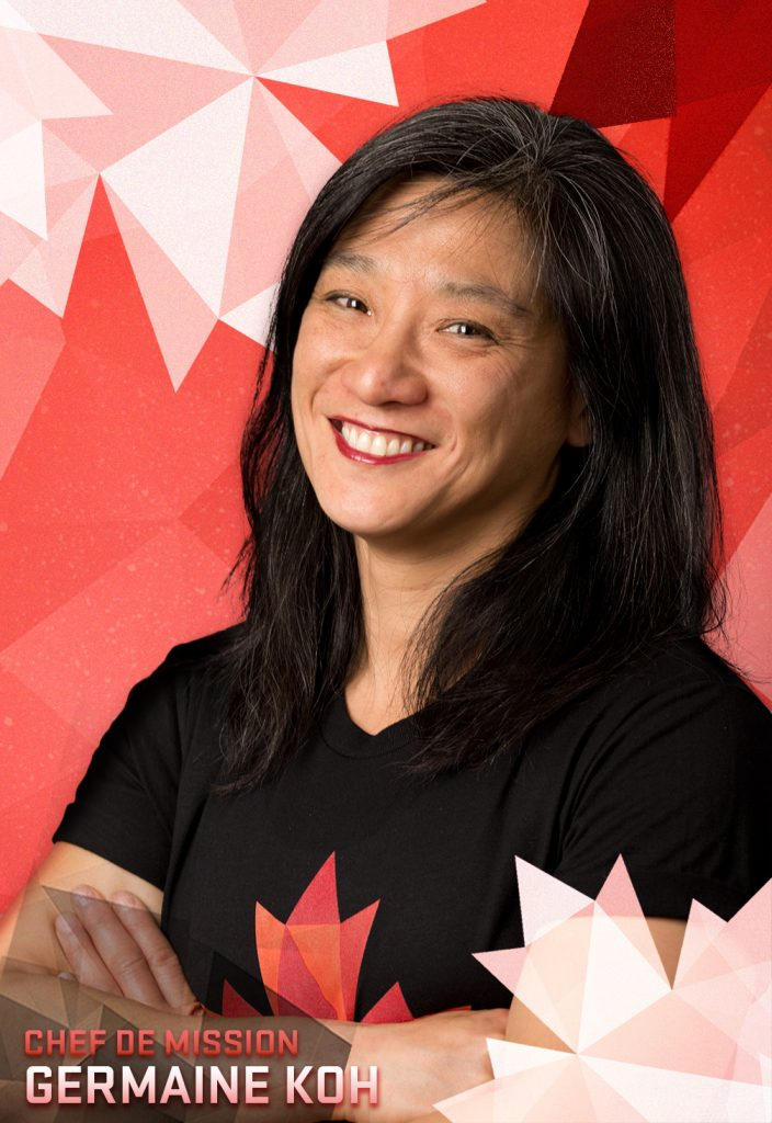 Chef de Mission Germaine Koh